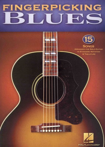 Hal Leonard Corporation Fingerpicking Blues - 15 Songs - zpěv / kytara + tabulatura