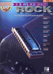 Hal Leonard Corporation HARMONICA PLAY ALONG 3 - BLUES ROCK + CD