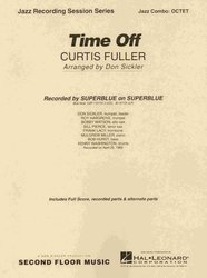 Hal Leonard Corporation TIME OFF (JAZZ OCTET) / partitura + party