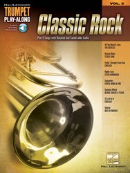 Hal Leonard Corporation TRUMPET PLAY- ALONG  3 - CLASSIC ROCK + Audio online