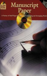 Hal Leonard Corporation MANUSCRIPT PAPER (Notové papíry) - CD-ROM