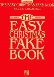 Hal Leonard Corporation THE EASY CHRISTMAS FAKE BOOK   vocal/chords