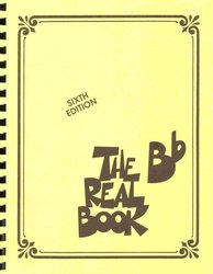 Hal Leonard Corporation THE REAL BOOK - Bb edition - melodie/akordy