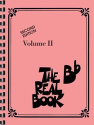 Hal Leonard Corporation THE REAL BOOK II - Bb edtion - melodie/akordy