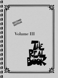 Hal Leonard Corporation THE REAL BOOK III - C edition - melodie/akordy