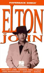 Hal Leonard Corporation Paperback Songs - ELTON JOHN       vocal / chord