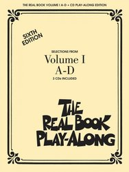 Hal Leonard Corporation THE REAL BOOK Play Along - 3x CD (A-D)