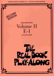 Hal Leonard Corporation THE REAL BOOK II Play Along - 3x CD (E- I)