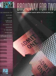 Hal Leonard Corporation PIANO DUET PLAY-ALONG 3 - BROADWAY FOR TWO + CD