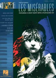 Hal Leonard Corporation PIANO DUET PLAY ALONG 14 - LES MISERABLES + CD