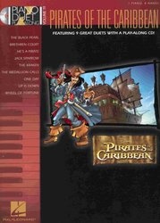 Hal Leonard Corporation PIANO DUET PLAY ALONG 19 - PIRATE OF THE CARIBBEAN + CD