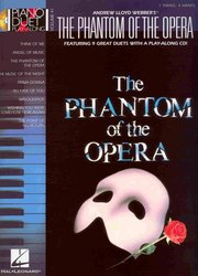 Hal Leonard Corporation PIANO DUET PLAY-ALONG 41 - THE PHANTOM OF THE OPERA + CD
