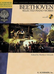 SCHIRMER, Inc. BEETHOVEN - selected piano works + CD / sólo klavír