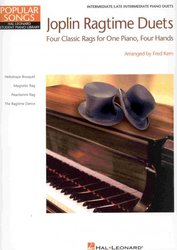 Hal Leonard Corporation Joplin Ragtime Duets - Four Classic Rags for 1 piano 4 hands