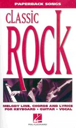 Hal Leonard Corporation Paperback Songs - CLASSIC ROCK vocal/chords