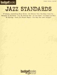 Hal Leonard Corporation BUDGETBOOKS - JAZZ STANDARDS  klavír/zpěv/kytara