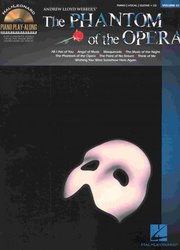 Hal Leonard Corporation Piano Play Along 83 - The PHANTOM of the OPERA + CD klavír/zpěv/kytara