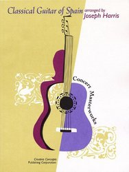 CREATIVE CONCEPTS PUBLISHING Classical Guitar of Spain - kytara + tabulatura