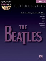 Hal Leonard Corporation Beginning Piano Solo 2 - THE BEATLES HITS + CD
