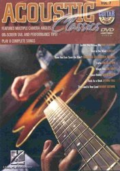 Hal Leonard Corporation Guitar Play Along DVD 7 - Acoustic Classics