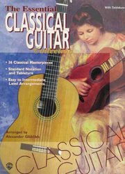 Warner Bros. Publications CLASSICAL GUITAR  -  the essential collection