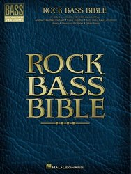 Hal Leonard Corporation Rock Bass Bible / basová kytara + tabulatura