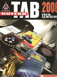 Hal Leonard Corporation GUITAR TAB 2006 - 12 of the hottest hits !!!