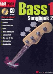 Hal Leonard Corporation FASTTRACK -  BASS 1 - SONGBOOK 2 + CD