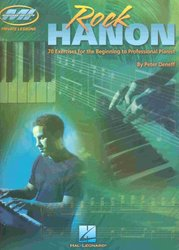 Hal Leonard Corporation ROCK HANON by Peter Deneff    piano