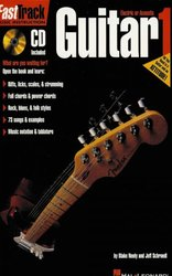 Hal Leonard Corporation FASTTRACK - GUITAR 1 + CD   music instruction