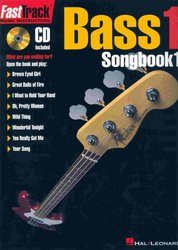 Hal Leonard Corporation FASTTRACK -  BASS 1 - SONGBOOK 1 + CD