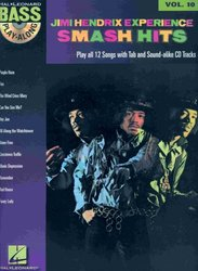 Hal Leonard Corporation BASS PLAY-ALONG 10 - JIMI HENDRIX + CD