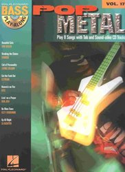 Hal Leonard Corporation BASS PLAY-ALONG 17 - POP METAL + CD