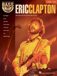 Hal Leonard Corporation BASS PLAY ALONG 29 - ERIC CLAPTON + CD