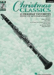 Hal Leonard Corporation CHRISTMAS CLASSICS + CD / klarinet