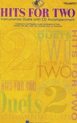 Hal Leonard Corporation HITS FOR TWO + CD / dueta pro housle