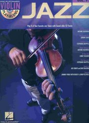 Hal Leonard Corporation VIOLIN PLAY-ALONG 7 - JAZZ + CD