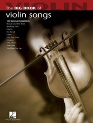 Hal Leonard Corporation Big Book of Violin Songs