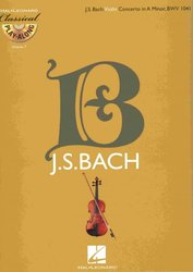 Hal Leonard Corporation CLASSICAL PLAY ALONG 7 - J.S.Bach: Violin Concerto in A Minor, BWV 1041 + CD
