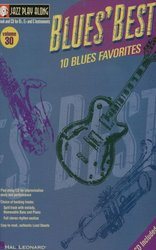 Hal Leonard Corporation JAZZ PLAY ALONG 30  -  BLUES' BEST + CD