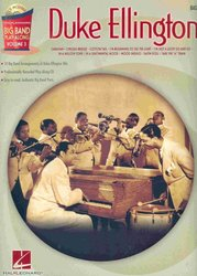 Hal Leonard Corporation BIG BAND PLAY- ALONG 3 - DUKE ELLINGTON + CD / basová kytara