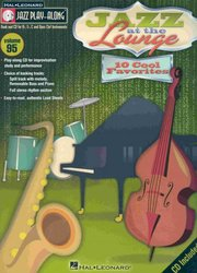 Hal Leonard Corporation JAZZ PLAY ALONG 95 - JAZZ AT THE LOUNGE + CD