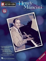 Hal Leonard Corporation JAZZ PLAY ALONG 154 - HENRY MANCINI + CD