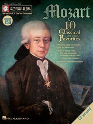 Hal Leonard Corporation JAZZ PLAY ALONG 159 - MOZART (10 Classical Favorites) + CD