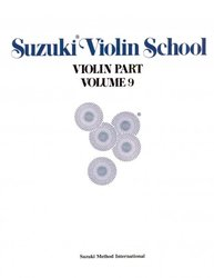 ALFRED PUBLISHING CO.,INC. SUZUKI VIOLIN SCHOOL volume 9 - violin part