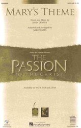 Cherry Lane Music Company MARY'S THEME (The Passion of The Christ) /  SATB*