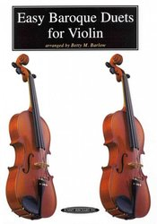 ALFRED PUBLISHING CO.,INC. Easy Baroque Duets for Violin