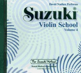 ALFRED PUBLISHING CO.,INC. Suzuki Violin School CD, Volume 4