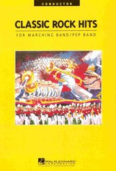 Hal Leonard Corporation CLASSIC ROCK HITS FOR MARCHING BAND - PARTS
