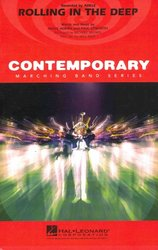 Hal Leonard Corporation Rolling in the Deep by ADELE- Contemporary Marching Band / partitura + party